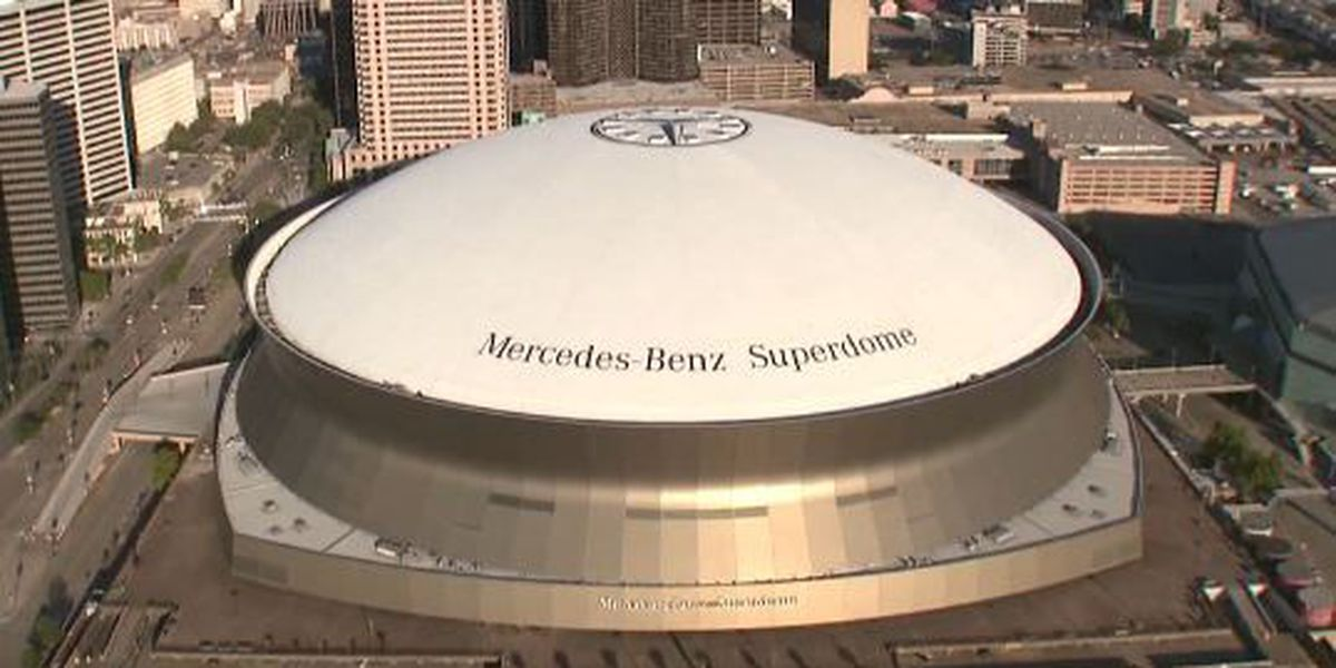 Superdome listed on National Register of Historic Places