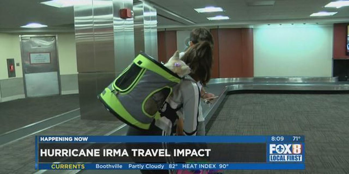 Some travelers change plans while others head on to Florida