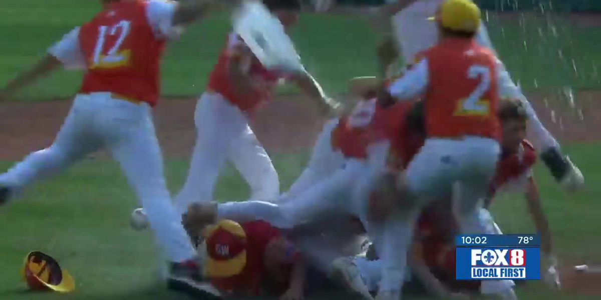 Fans React To Historic Louisiana Little League Win