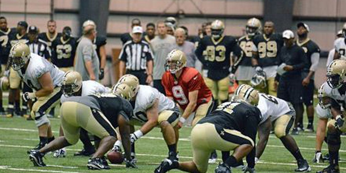 Drew Brees comfortable with starting offense's preseason workload