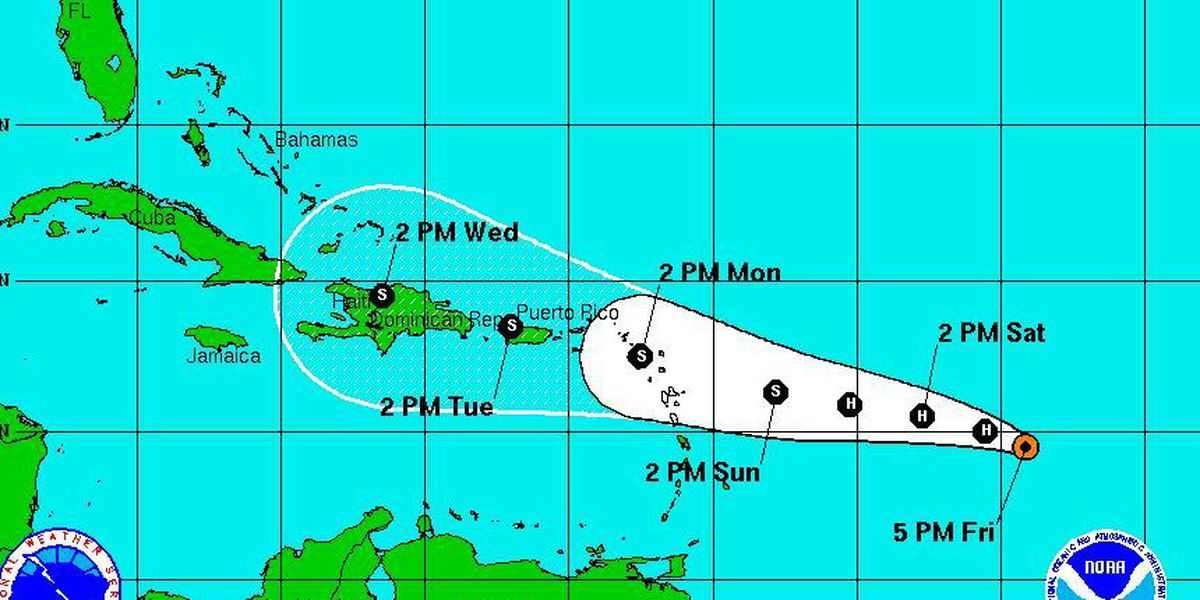 Nicondra: Danny about to battle wind shear, interaction with land
