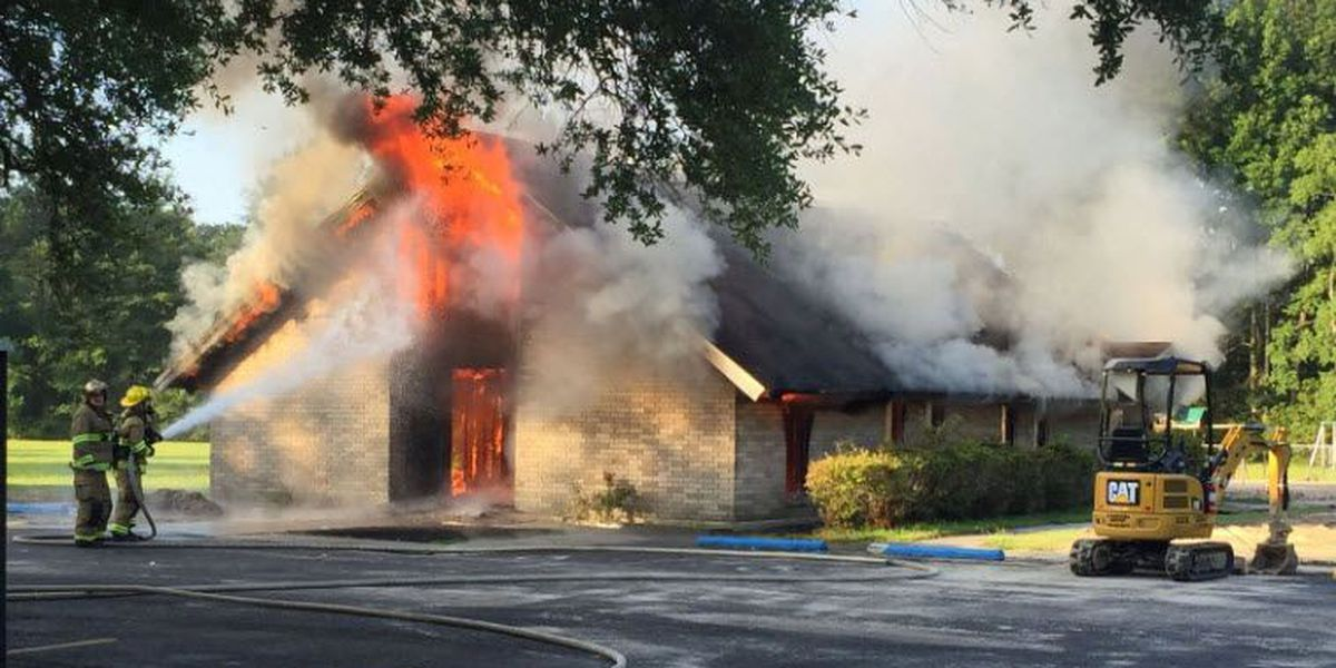 St. Tammany FD: Arsonists set fire to North Shore church for second time in eight months