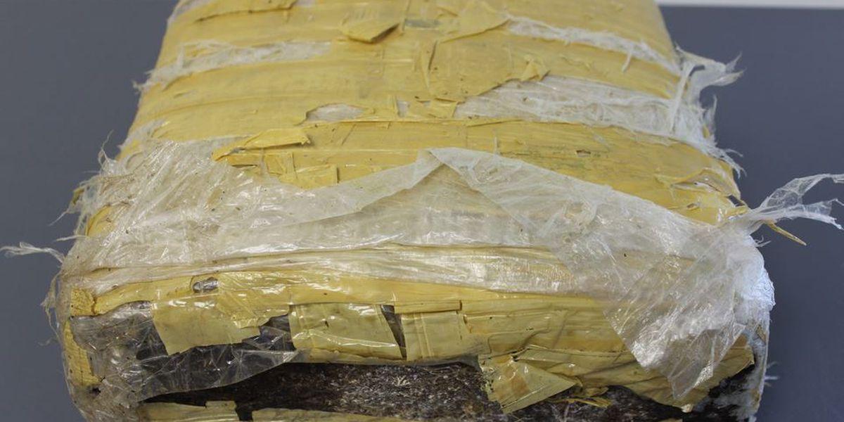 Angler finds 10-pound pot package along Plaquemines Parish shoreline