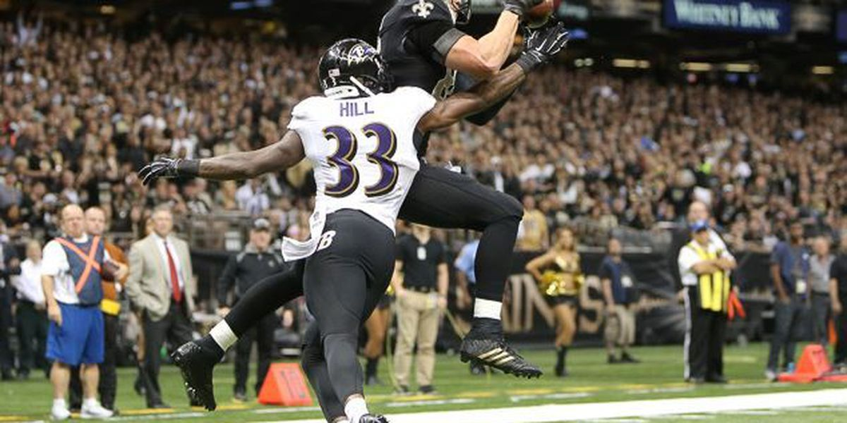 Forsett leads Ravens past Saints, 34-27