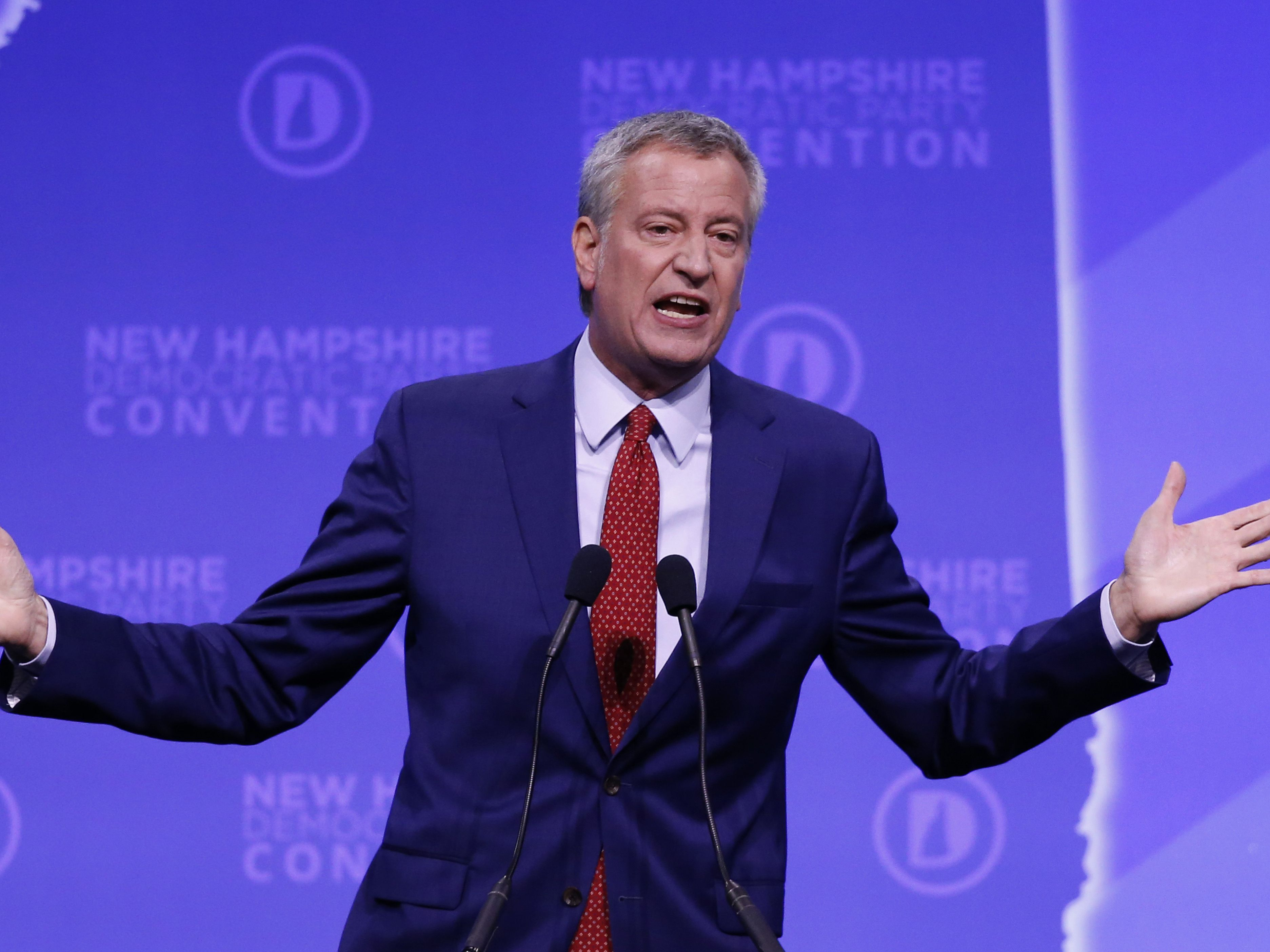 NYC Mayor Bill de Blasio ends presidential campaign
