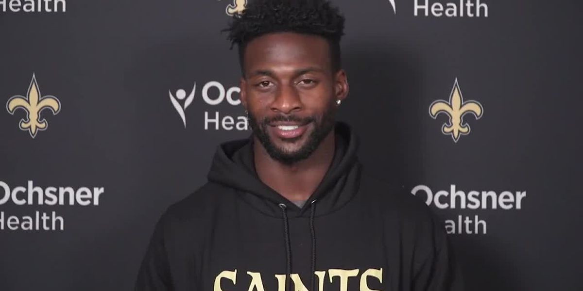 Saints wide receiver Emmanuel Sanders eager to work with Drew Brees