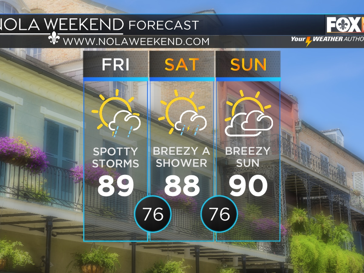 Zack: A Weak Front Arrives For The Weekend