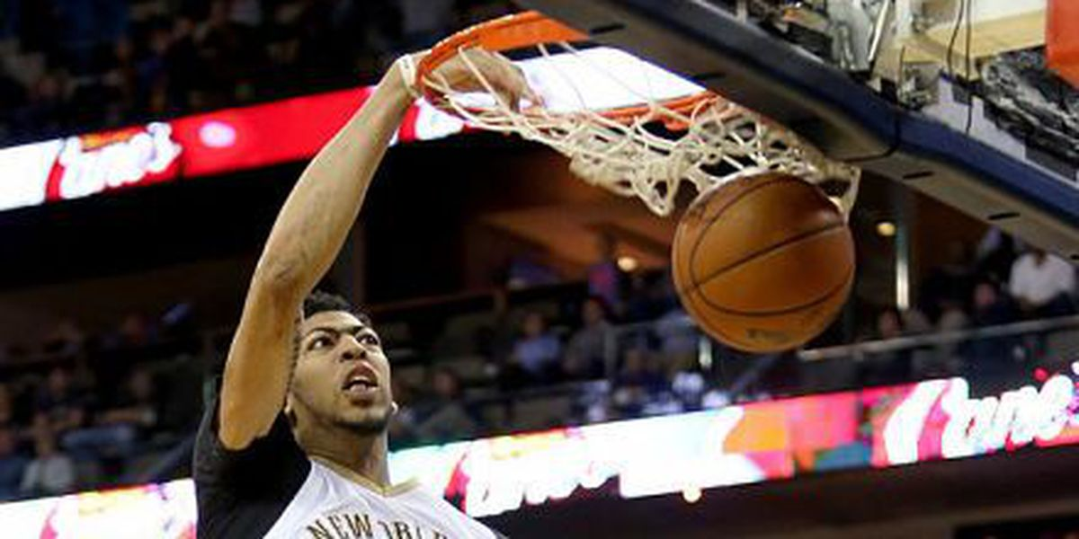 Pelicans list Anthony Davis as questionable for Wednesday game