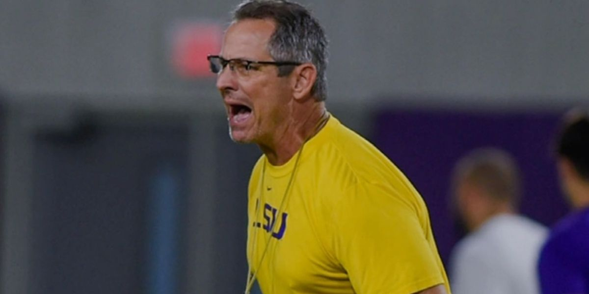 LSU strength and conditioning coach Tommy Moffitt working to keep the Tigers in shape