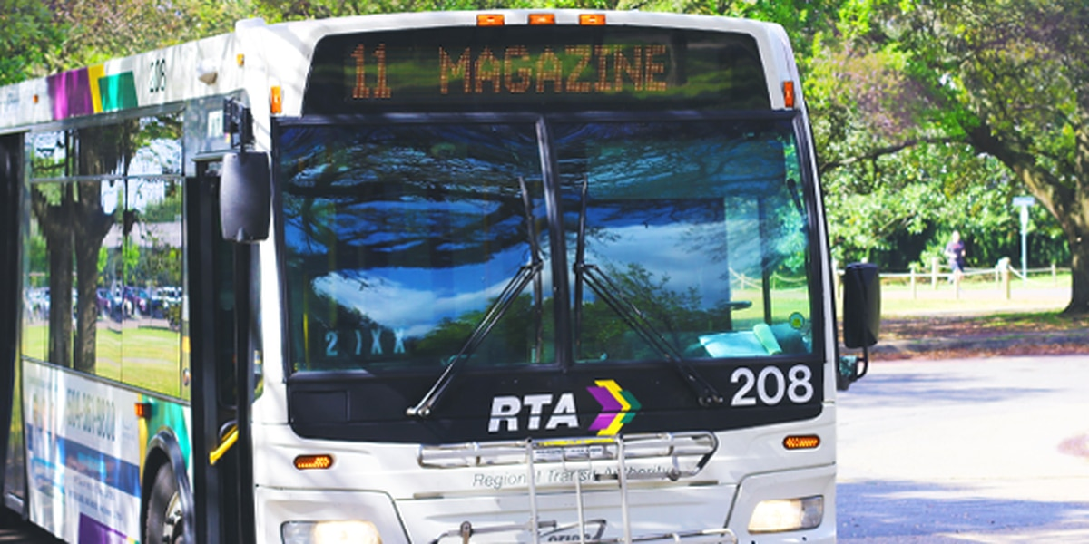 RTA to suspend bus, streetcar and ferry service ahead of Tropical Storm Sally