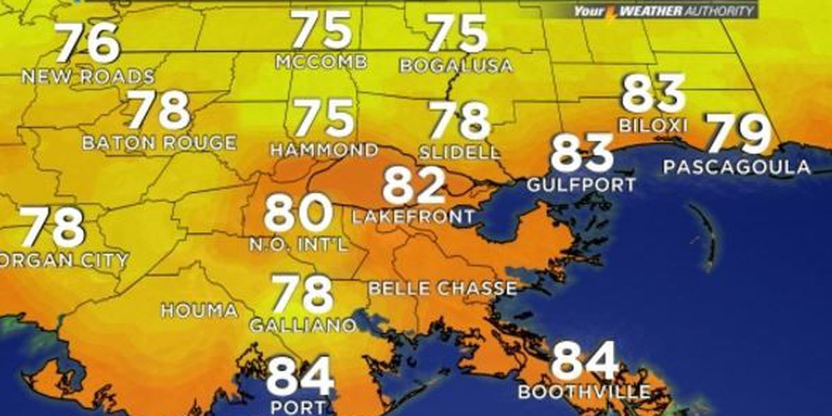 Your Weather Authority: Dry for some, spotty afternoon showers for others