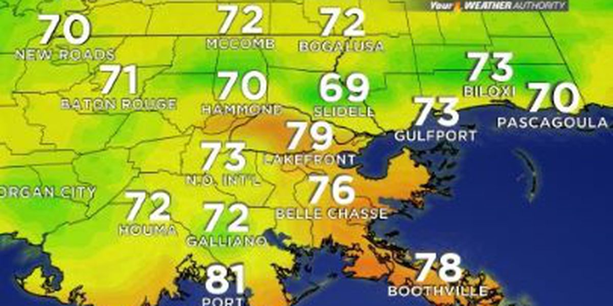 Your Weather Authority: Hot days before a cooler weekend