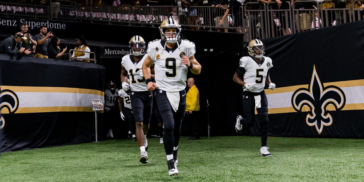 Brees responds to President Trump