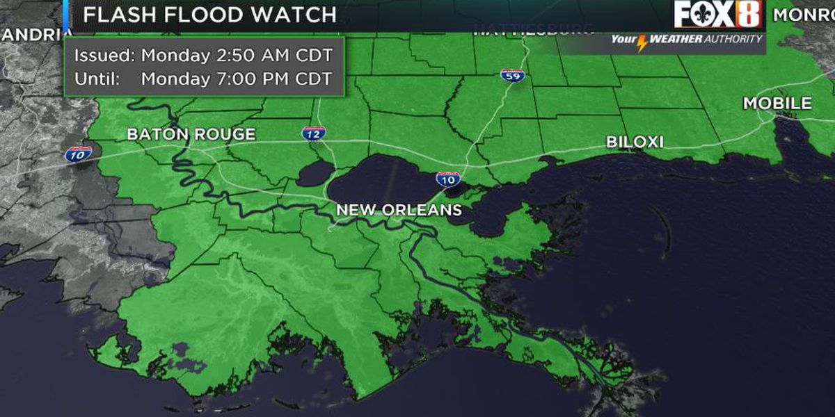 Shelby: Cristobal Moves North, Rain Threat Continues