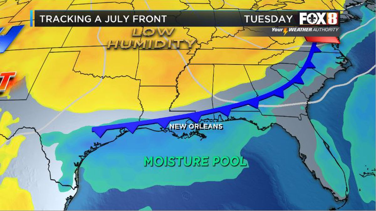 Zack: Storms Today, Cool Front This Week