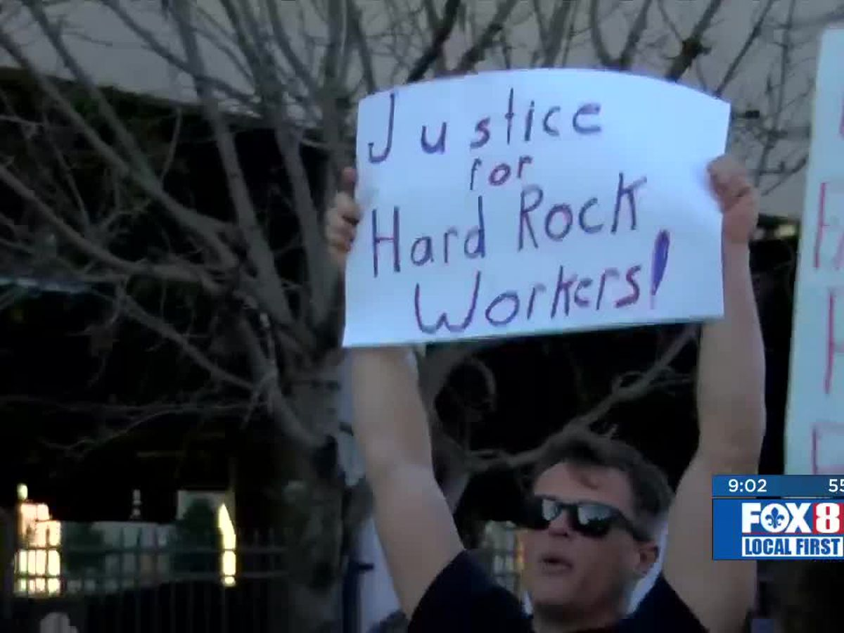 Protesters demand accountability for the Hard Rock collapse