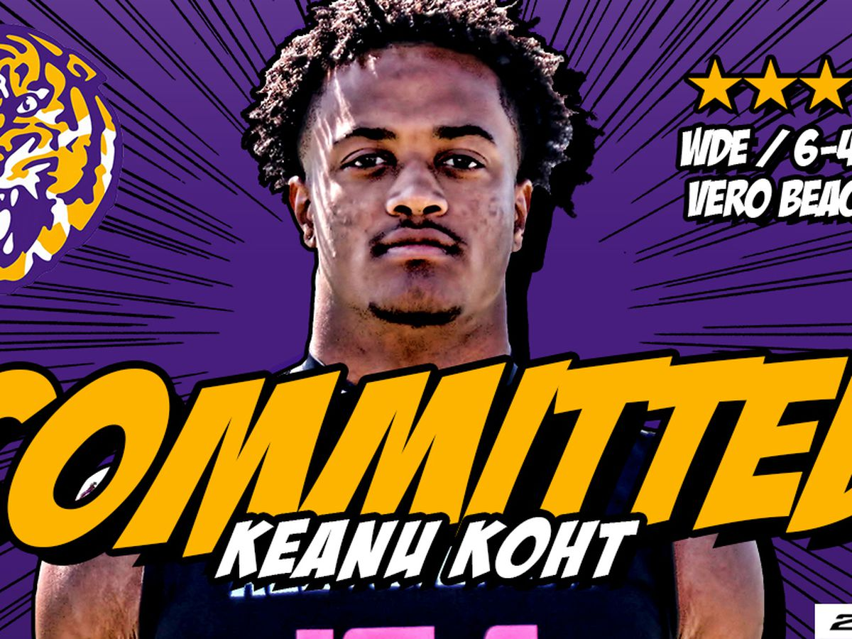 LSU picks up commit from 4-star DE Keanu Koht to 2021 class