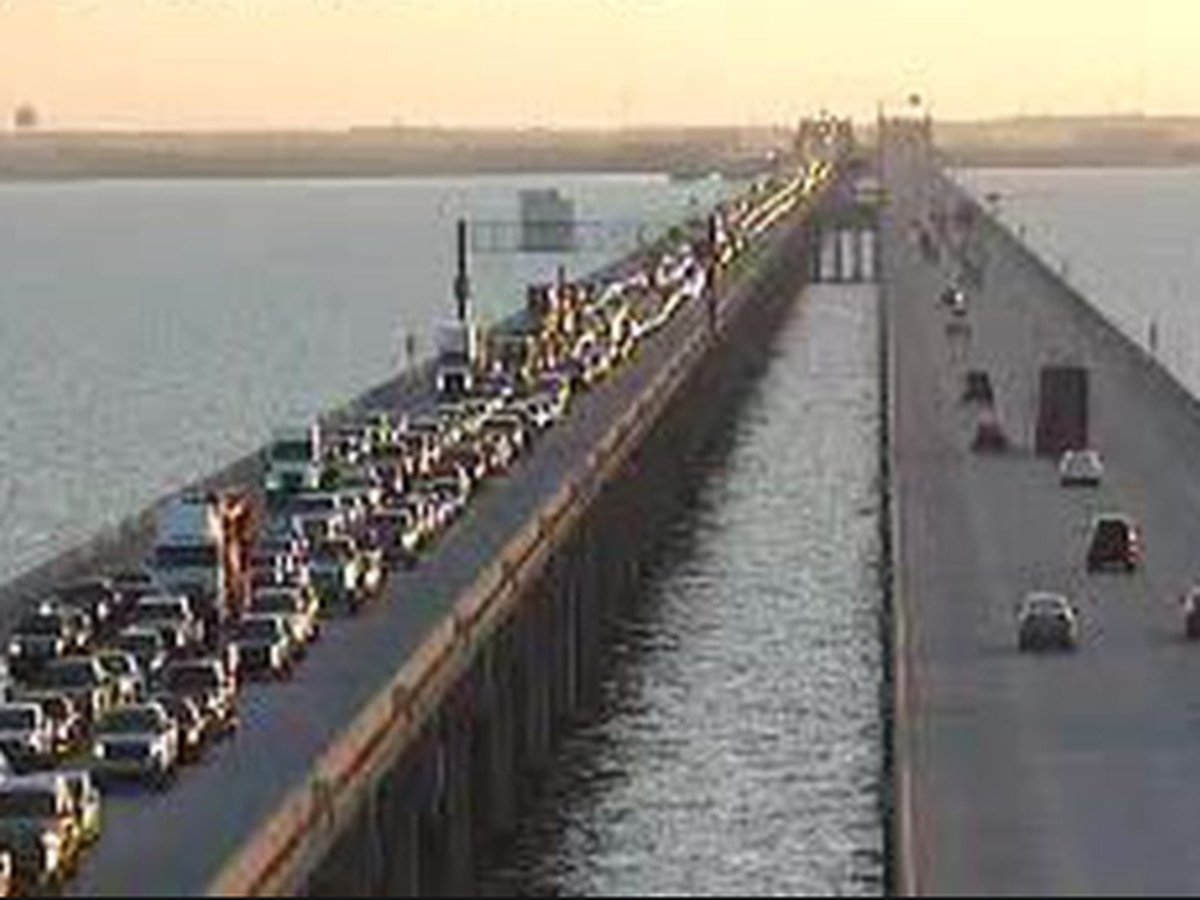 2 lanes of Twin Span to close this weekend, see alternate route
