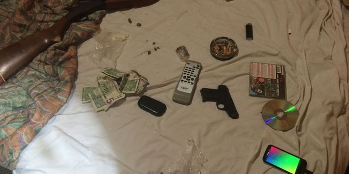 Alleged dealers busted in Bogalusa motel; drugs and weapons recovered