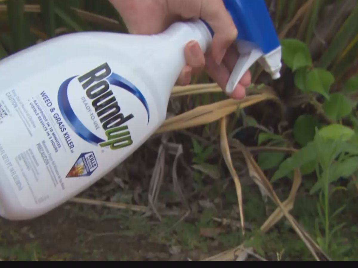 Miss. man files lawsuit against Roundup, claims it gave him lymphatic cancer