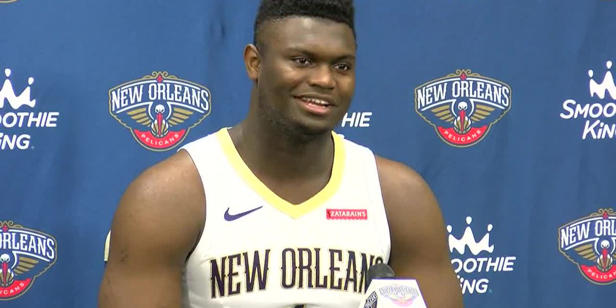 2019 Media Day: Zion Williamson