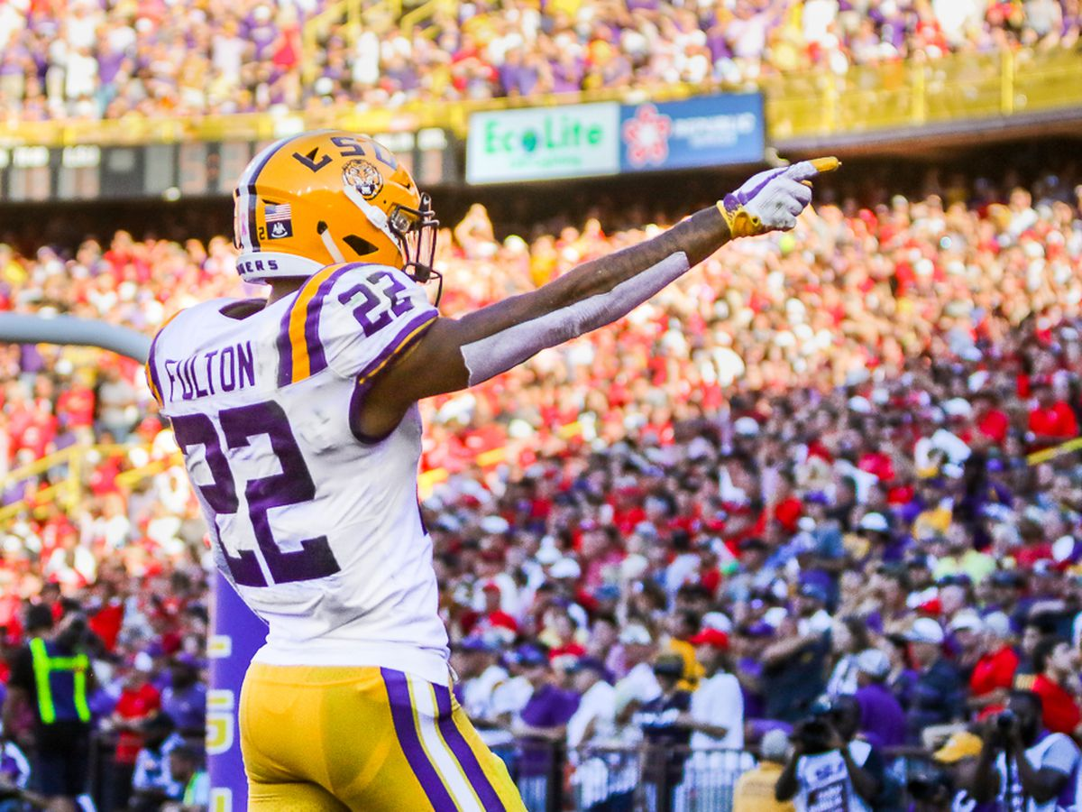 LSU starting cornerback Kristian Fulton will return for senior season