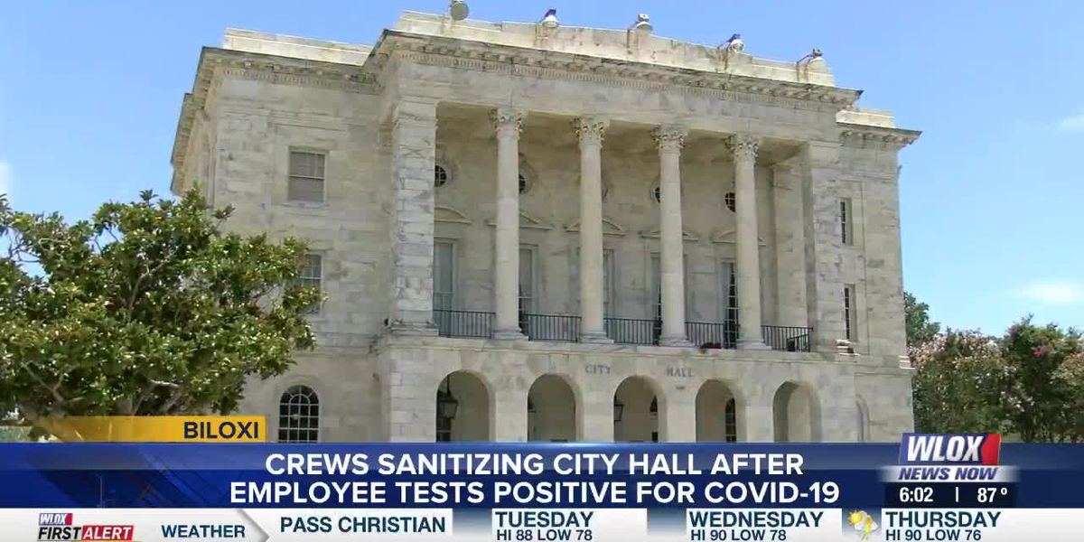 Biloxi City Hall closed after employee tests positive for coronavirus