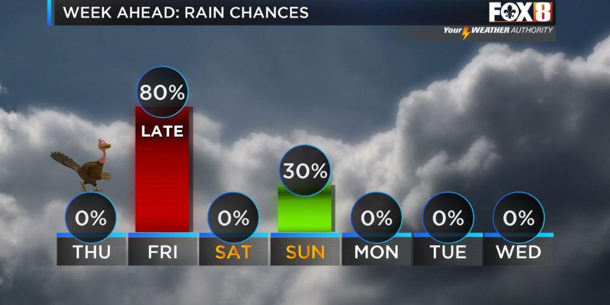 Rain Likely Late Friday