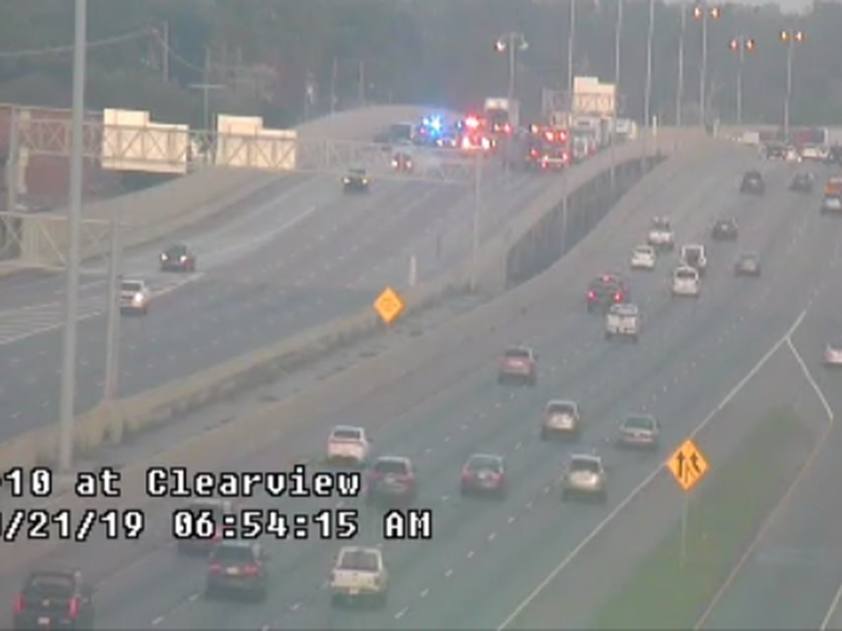 FIRST ALERT TRAFFIC: I-10 East at Veterans Blvd. reopened following accident