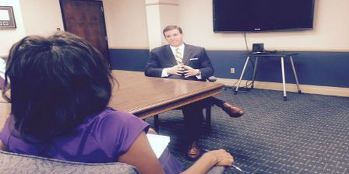 FOX 8 Exclusive: Mike Yenni talks about texting controversy, family support