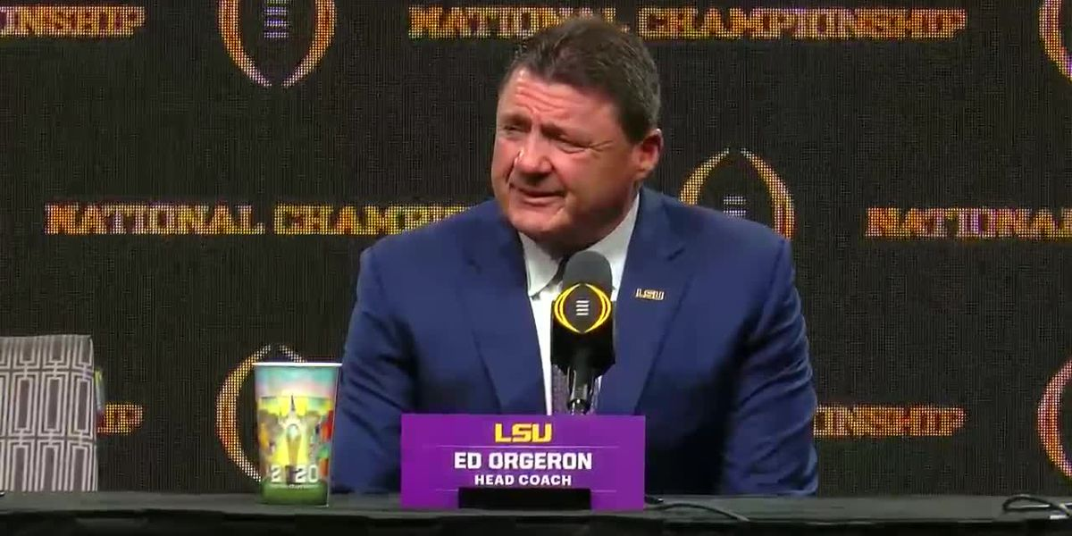 Coach Orgeron on recruiting, 'We plan on finishing this recruiting class strong.'