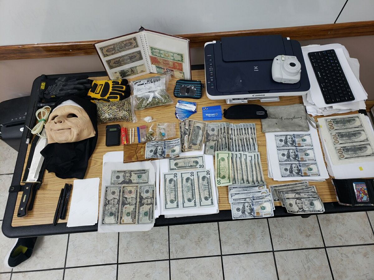 Sheriff: 3 suspects found with drugs, $9K in counterfeit cash in Houma hotel