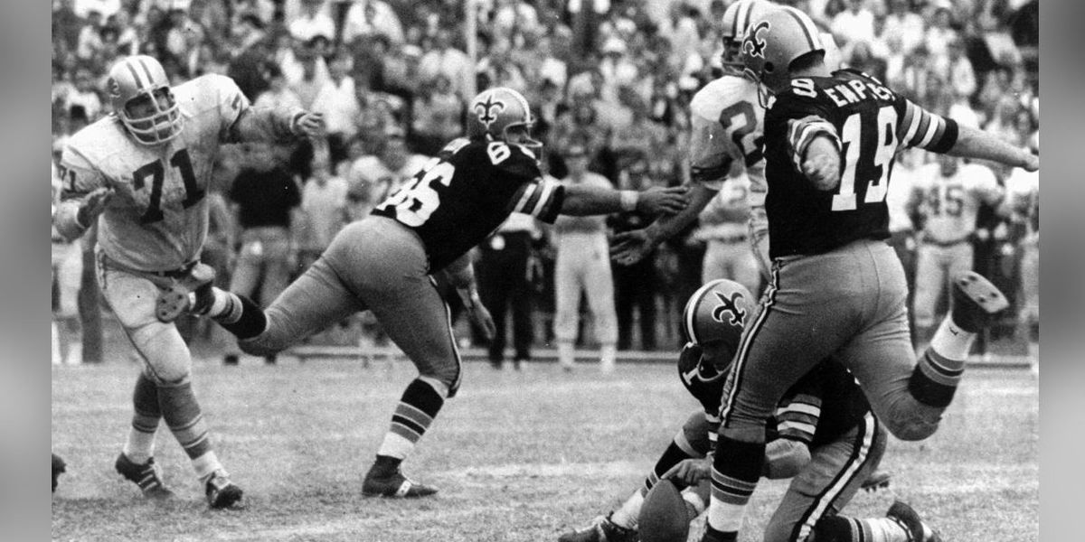 Historic Saints kicker Tom Dempsey dies after fight with coronavirus