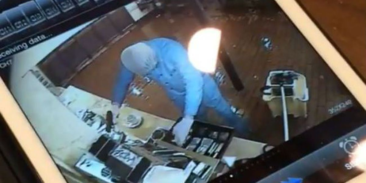 Camera captures armed robbery of Morning Call
