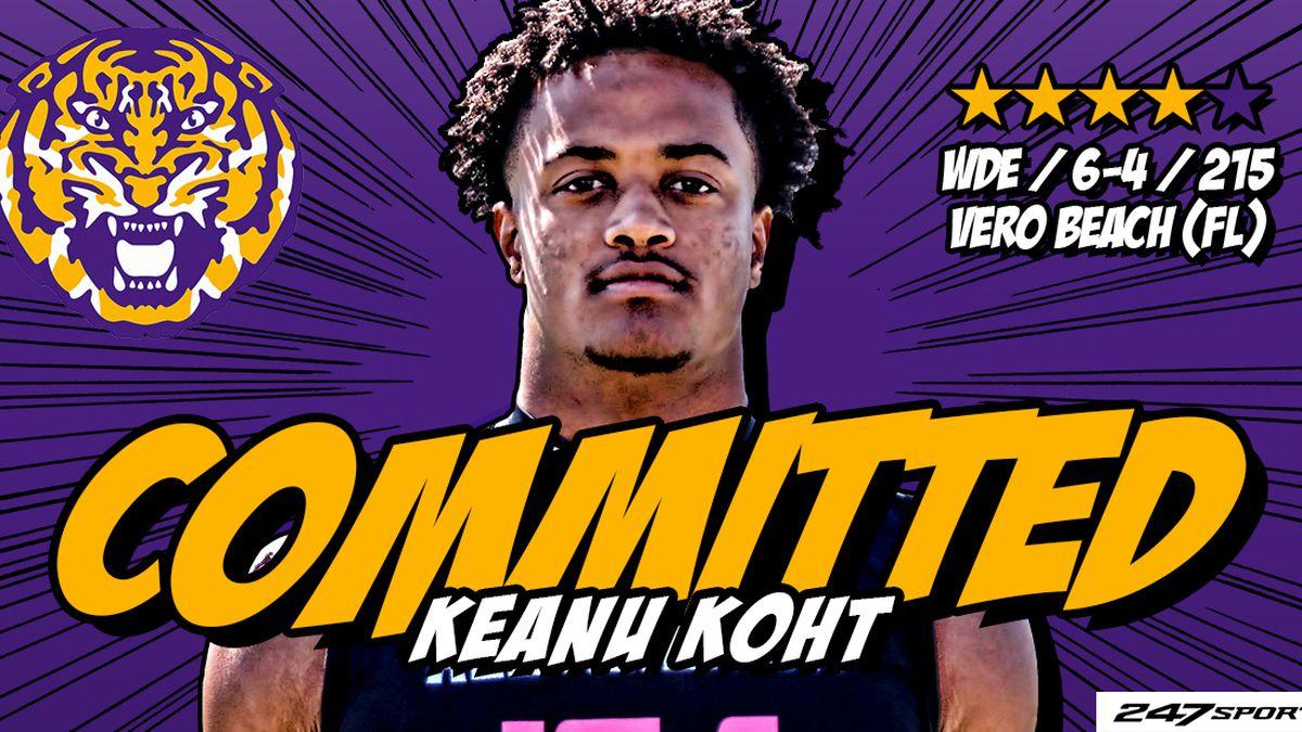 LSU picks up commit from 4-star DE Keanu Koht to 2021 class