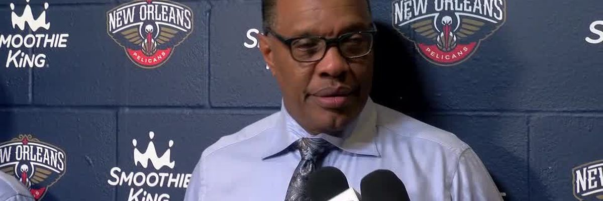 Alvin Gentry reacts to Pelicans undefeated start to the season