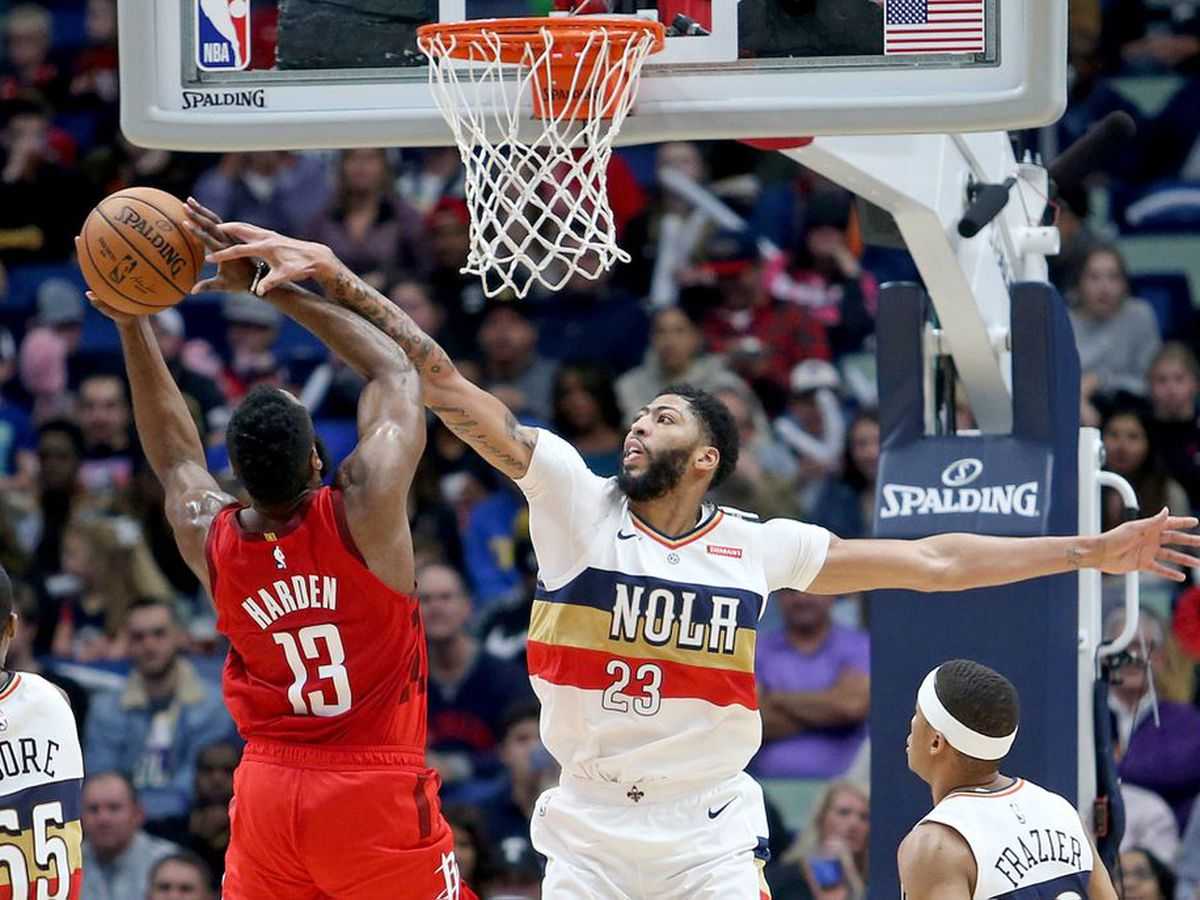 James Harden lights up the Pelicans with 41 points in a Rockets win