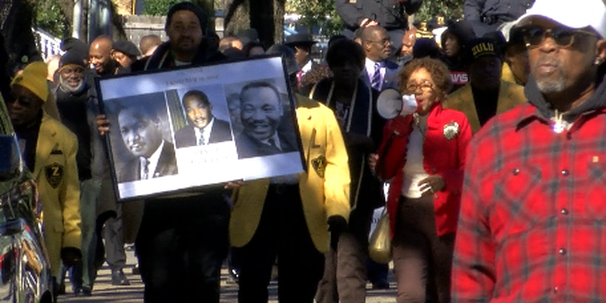 N.O. marks MLK Day with marches, speeches and a call for unity