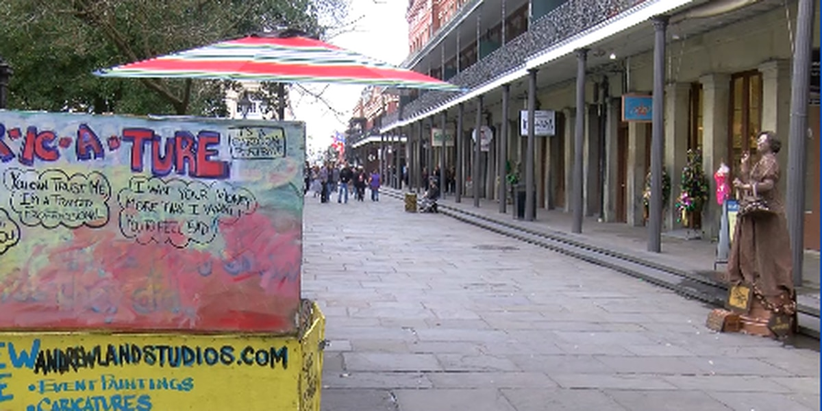 Jackson Square artists believe carts were stolen following disagreements with a street performer
