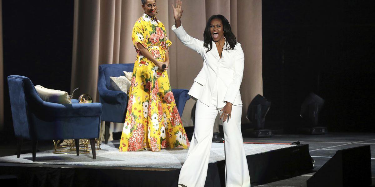 Obama recalls 2016 speech during book tour condemning Trump