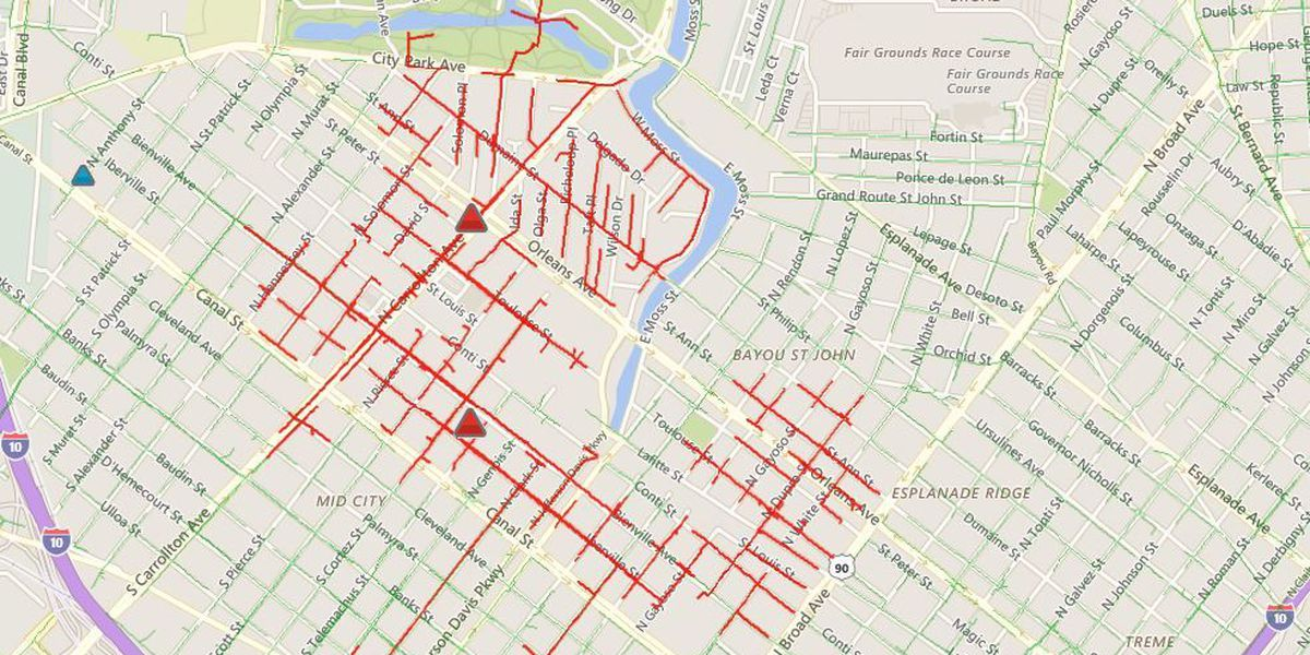 UPDATE: Power almost completely restored in Mid-City