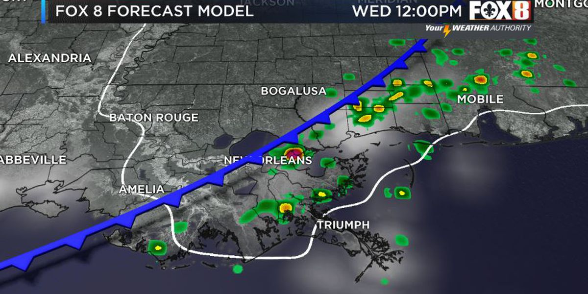 Shelby: Cold Front Arrives Today