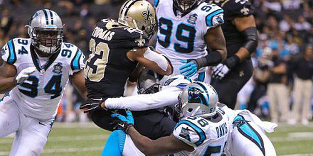 Panthers pound Saints 41-10