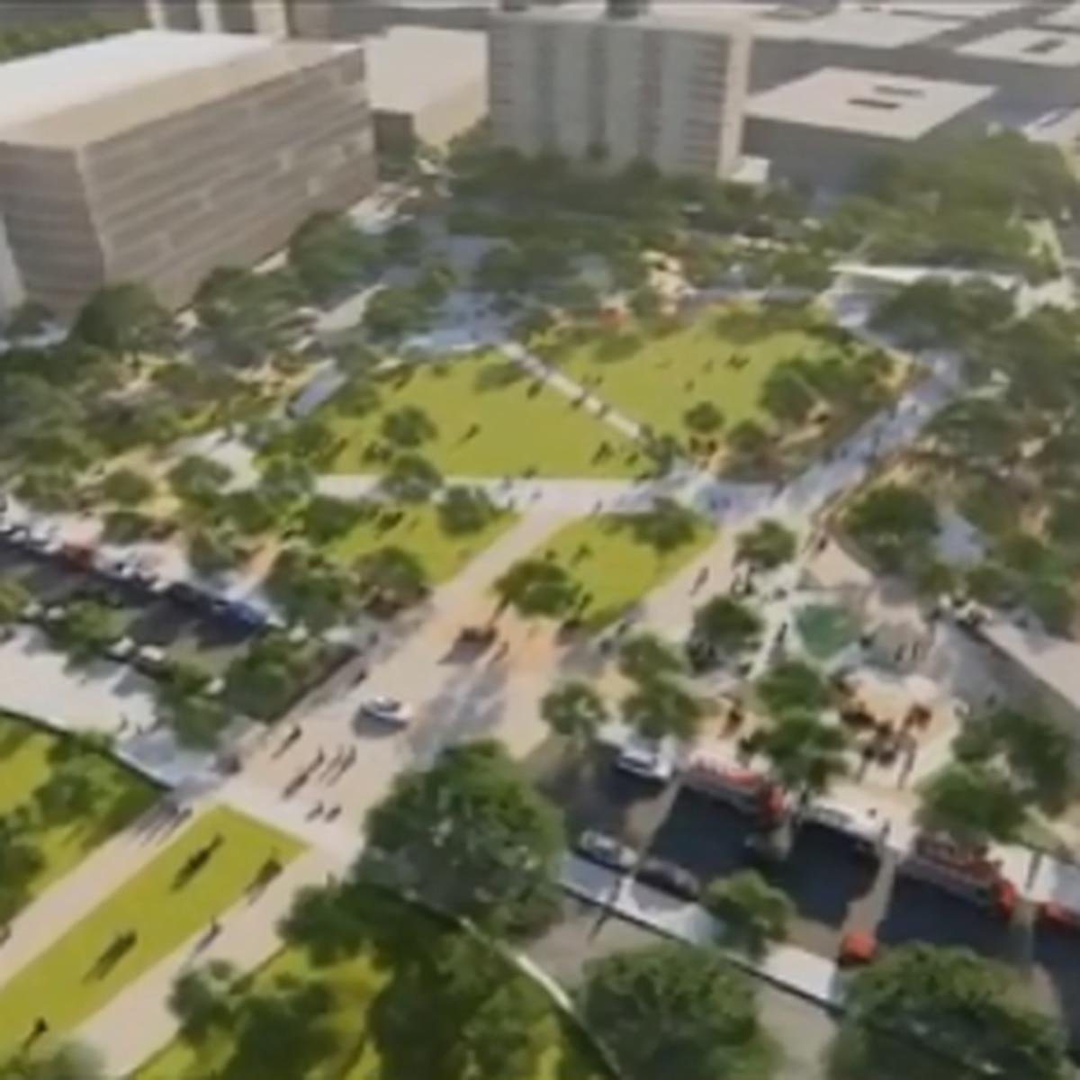 Improvements to Duncan Plaza revealed Thursday