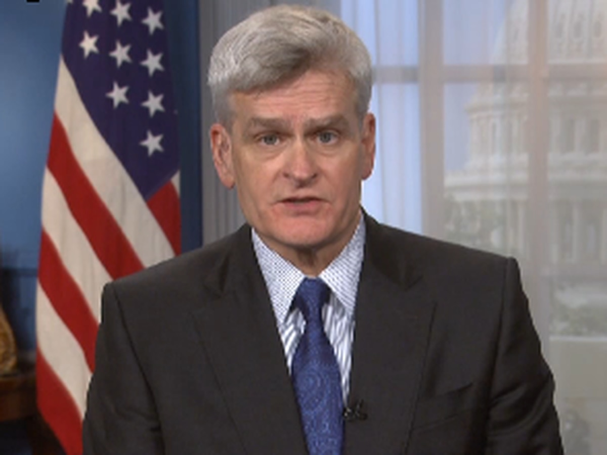 Sen. Cassidy discusses Republicans' new COVID-19 aid package