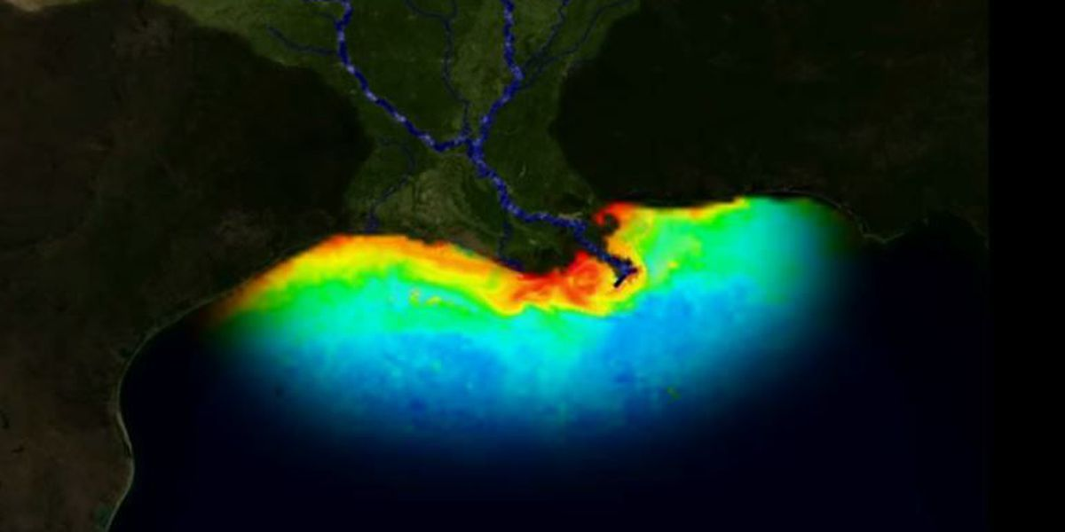 Average Gulf of Mexico 'dead zone' predicted this summer