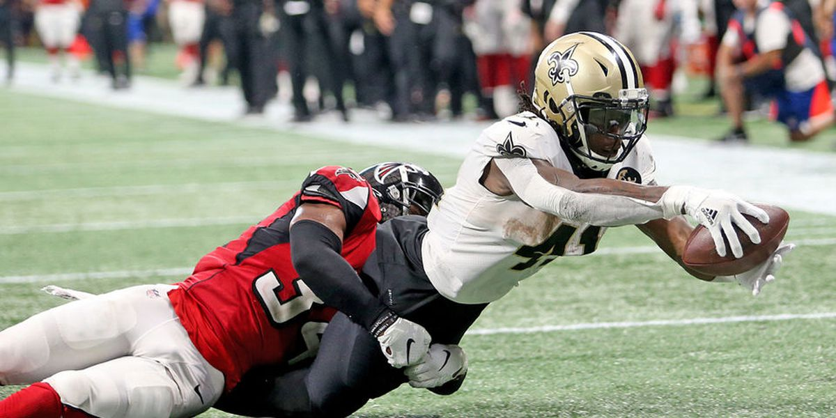 Kamara limited in practice Wednesday after 31 touches against the Falcons