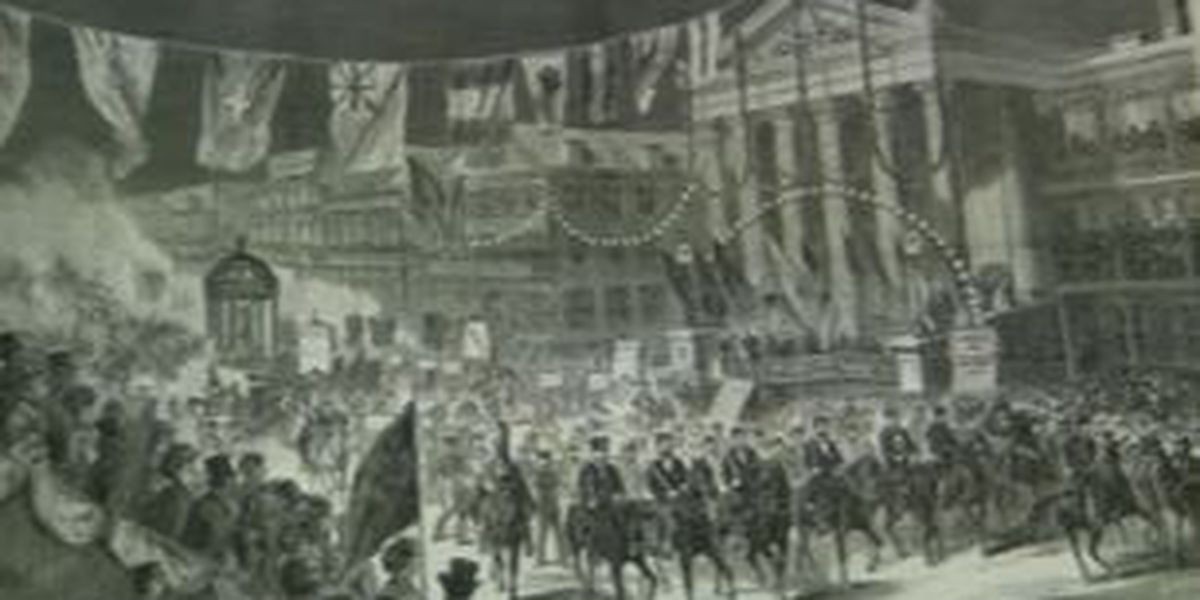 Gallier Hall witnessed Carnival from its New Orleans roots