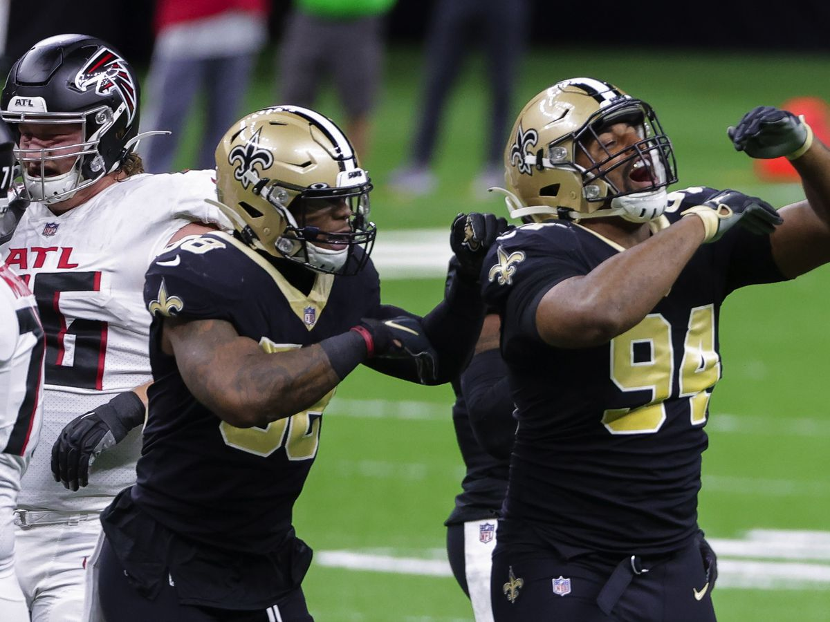 Cam Jordan named NFC Defensive Player of the Month