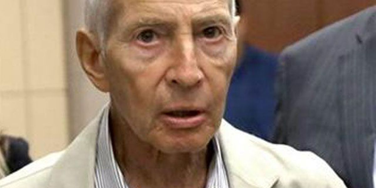 DA drops gun, drug charges against Robert Durst